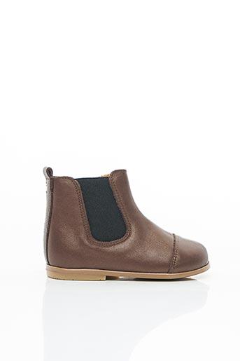 Bottines/Boots marron PATT'TOUCH pour fille
