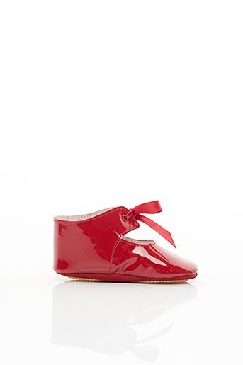 Chaussons/Pantoufles rouge PATT'TOUCH pour fille