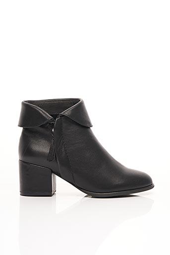Bottines/Boots noir CAFE NOIR pour femme