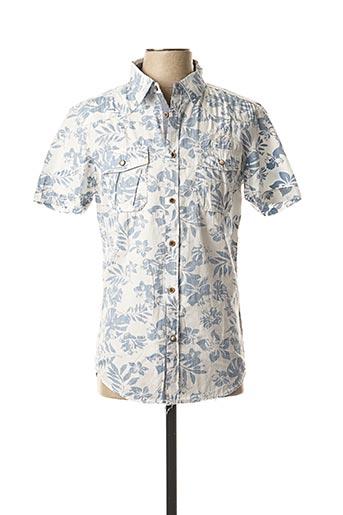 Chemise manches longues blanc ALCOTT pour homme