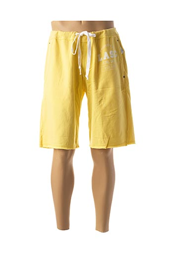 Bermuda jaune LASC pour homme