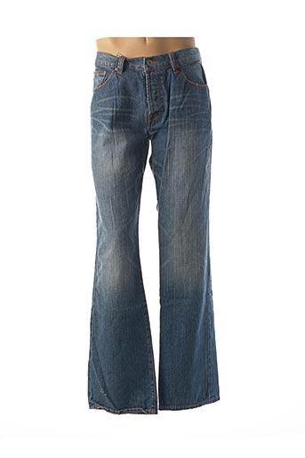 Jeans coupe large bleu ALCOTT pour homme