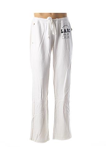 Jogging blanc LASC pour homme