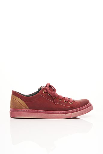 Baskets rouge CHACAL pour femme
