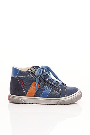 Baskets bleu BOPY pour garçon