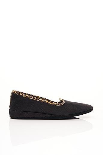 Chaussons/Pantoufles noir EREL pour femme
