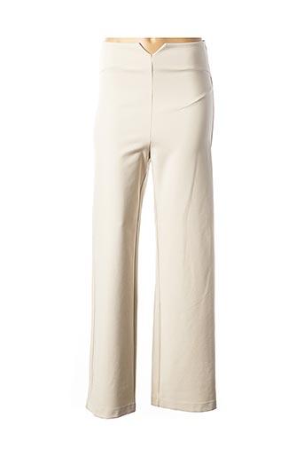 Pantalon casual beige PATRIZIA PEPE FIRENZE pour femme