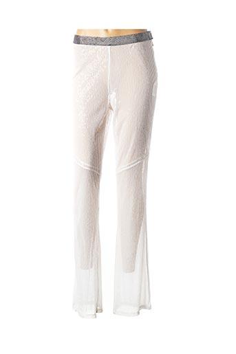 Pantalon casual blanc PATRIZIA PEPE FIRENZE pour femme
