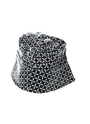 Chapeau noir K-A-N-O-U pour femme