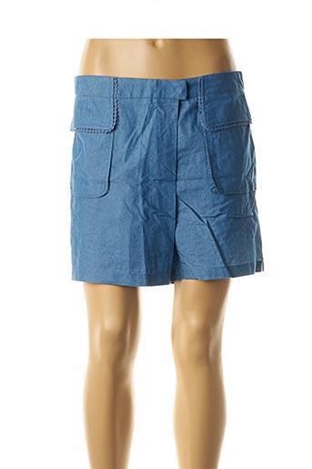 Short bleu MOLLY BRACKEN pour femme