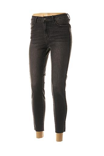 Jeans coupe slim noir VILA pour femme
