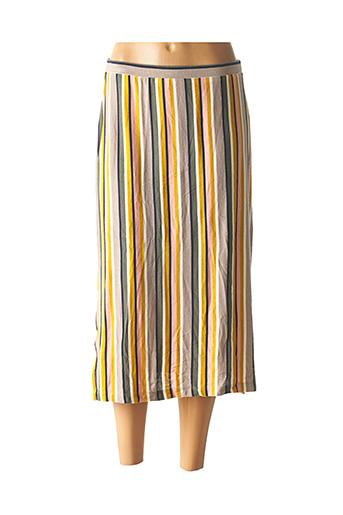 Jupe mi-longue gris EDC BY ESPRIT pour femme