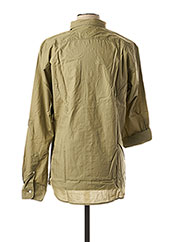 Chemise manches longues vert SELECTED pour homme seconde vue