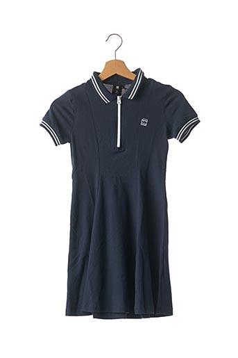 Robe mi-longue bleu G STAR pour fille