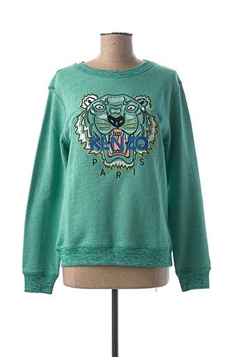 Sweat-shirt vert KENZO pour fille
