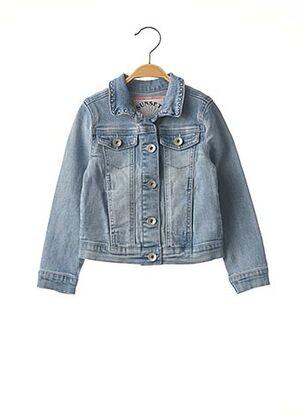 Veste en jean bleu IKKS pour fille