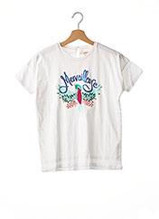 T-shirt manches courtes blanc CATIMINI pour fille seconde vue