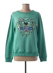Sweat-shirt vert KENZO pour fille seconde vue