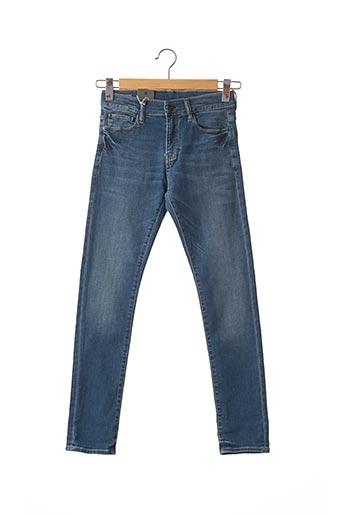 Jeans coupe slim bleu G STAR pour garçon