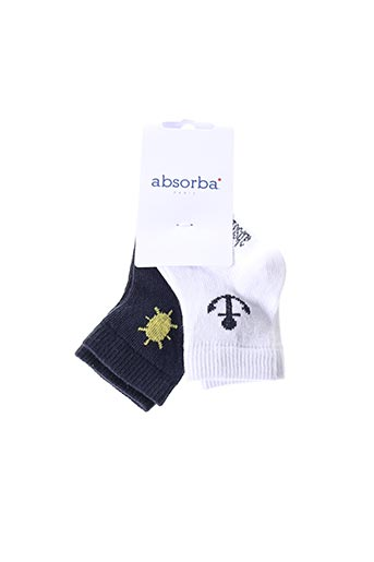 Chaussettes blanc ABSORBA pour enfant