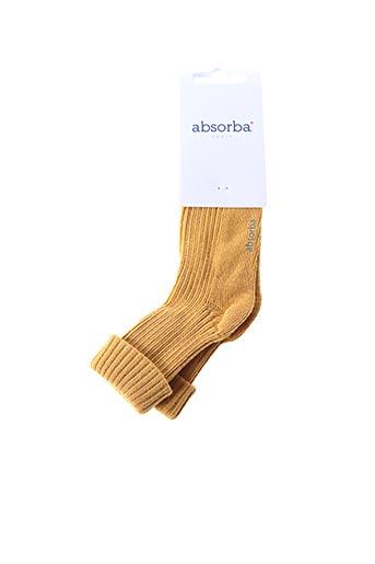 Chaussettes jaune ABSORBA pour enfant