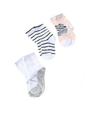 Chaussettes blanc IKKS pour fille