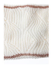 Echarpe blanc CHIPIE pour fille seconde vue