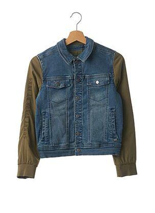 Veste en jean bleu IKKS pour garçon