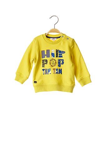 Sweat-shirt jaune CATIMINI pour fille