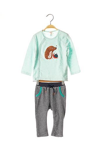 Top/pantalon vert CATIMINI pour enfant