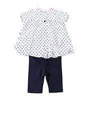 Top/pantalon bleu ABSORBA pour fille seconde vue