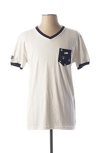 T-shirt manches courtes gris ARISTOW pour homme