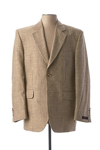 Veste chic / Blazer beige KAMAO pour homme