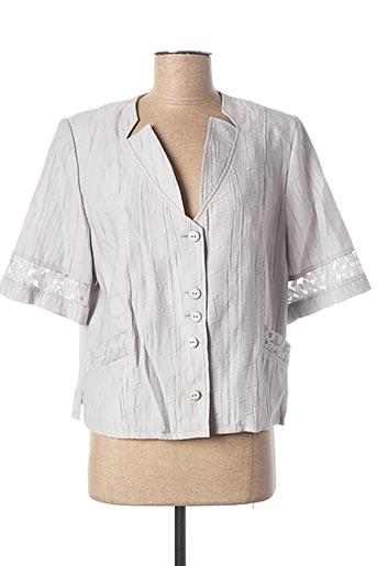 Veste casual gris KARTING pour femme