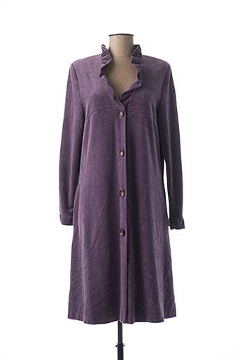 Robe de chambre violet REGENCE pour femme