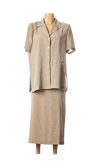 Veste/jupe beige PARIS pour femme