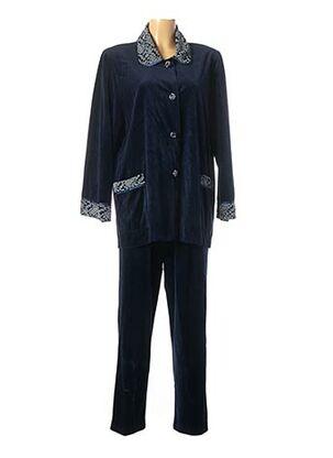 Pyjama bleu REGENCE pour femme