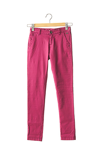 Pantalon 7/8 rose DDP pour femme