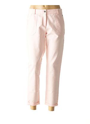 Pantalon casual rose LOLA ESPELETA pour femme