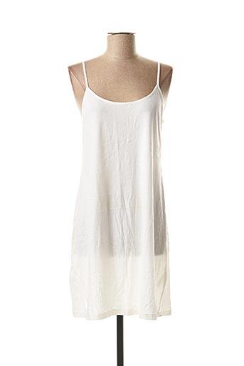 Jupon /Fond de robe blanc DES PETITS HAUTS pour femme