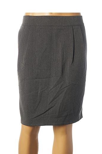 Jupe courte gris B.YOUNG pour femme