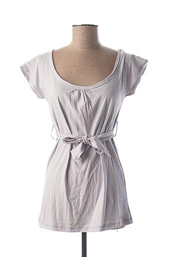 T-shirt manches courtes violet CHILLI PEPPER pour femme