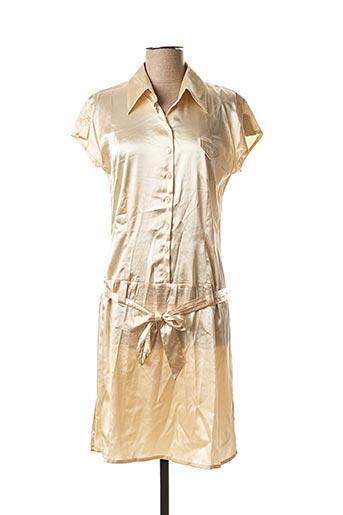 Robe mi-longue beige FAIRLY pour femme