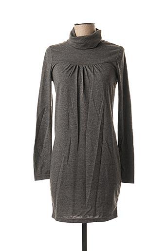 Robe mi-longue gris BLEND pour femme
