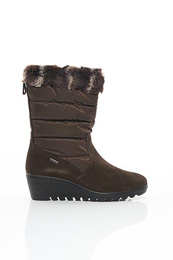 Bottines/Boots marron ENVAL SOFT pour femme
