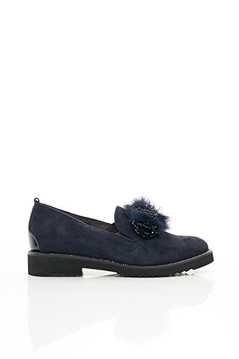 Chaussures de confort bleu SOFTWAVES pour femme