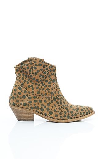 Bottines/Boots marron ELOUNDA pour femme