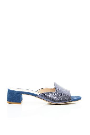 Mules/Sabots bleu MALLY pour femme