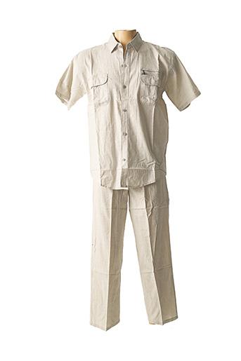 Top/pantalon beige AMPARO pour homme
