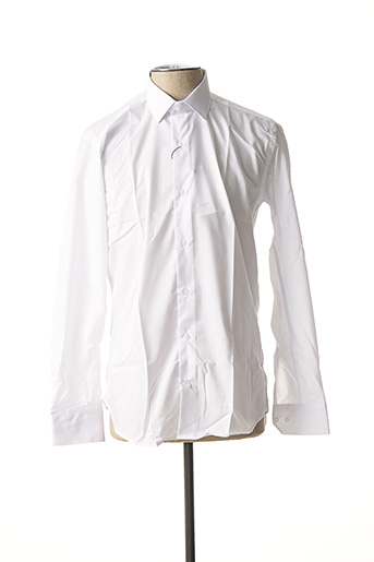 Chemise manches longues blanc CHROM pour homme